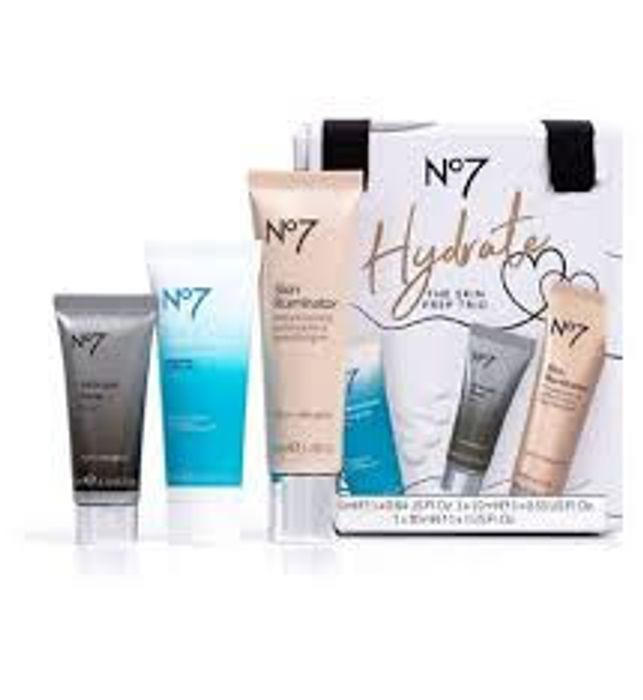 Boots No7 Hydrate the Skin Prep Trio Gift Set - Now Only £16