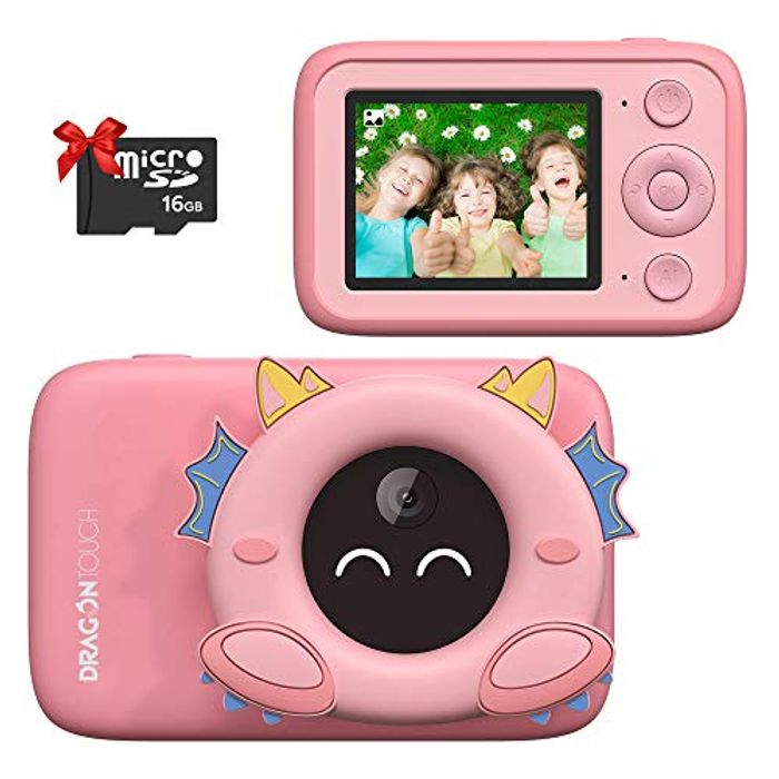 Dragon Touch Kids Camera + 32GB Memory Card
