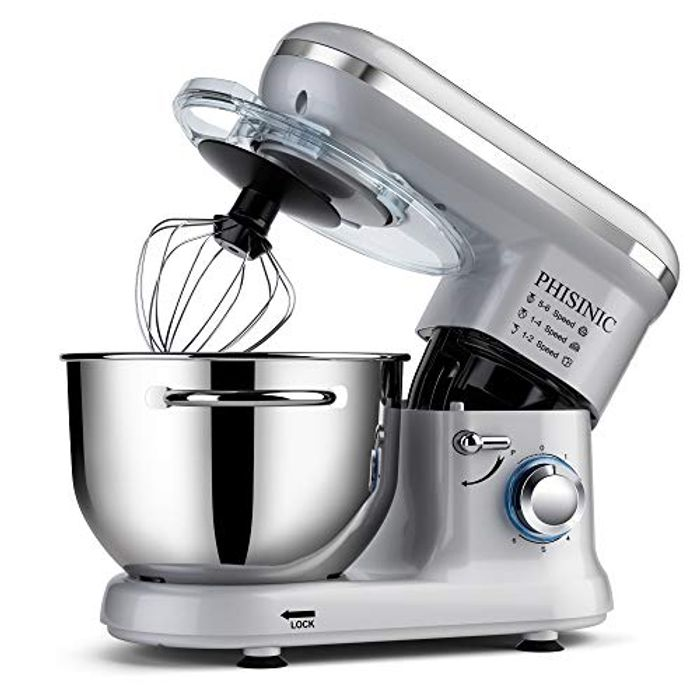 Food Stand Mixer for Baking, 5.5L 1500W