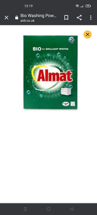 Bio Washing Powder - 40 Washes