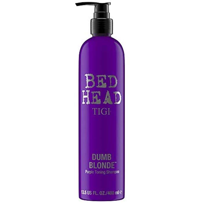 Bed Head by Tigi Dumb Blonde Purple Toning Shampoo for Blonde Hair 400 Ml