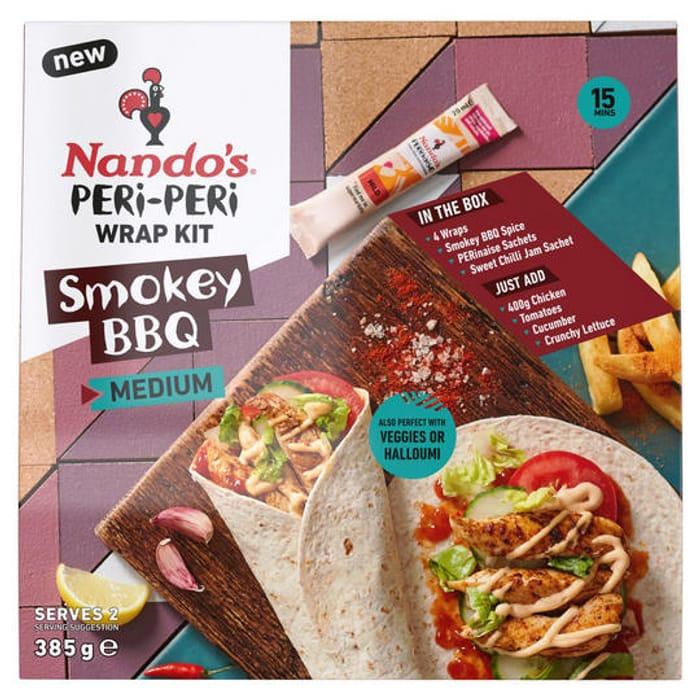 Nando's Smokey BBQ Peri-Peri Wrap Kit 261g