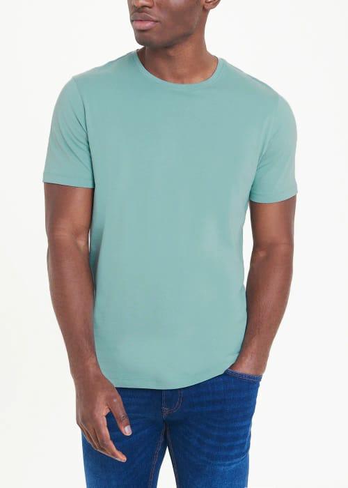 Basic Crew Neck T-Shirt Mens Now = £2.00 at Matalan