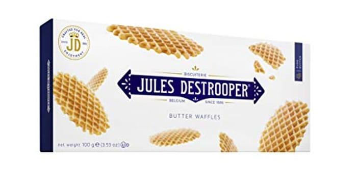 Jules Destrooper Biscuit Butter Waffles