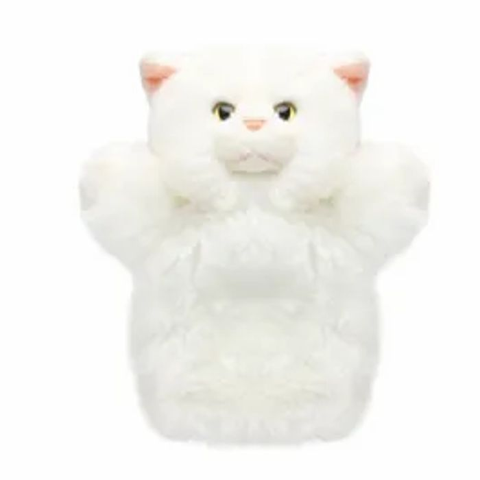 Special Offer! Hamleys Sitting White Cat Soft Toy