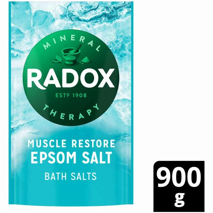 Radox Epsom Salt Bath Salts Muscle Restore 900g