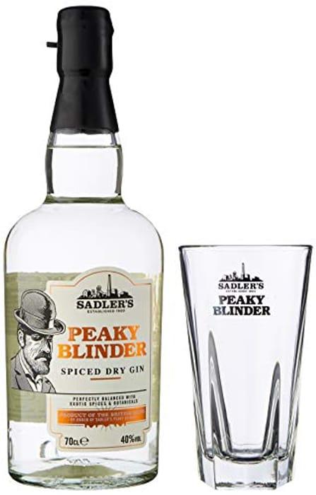 Sadler's Peaky Blinder Gin Gift Set with Peaky Blinder Glass