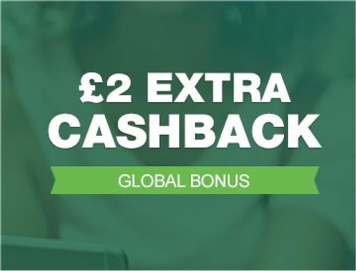 £2 Extra Cashback on £5 Spend at TopCashback