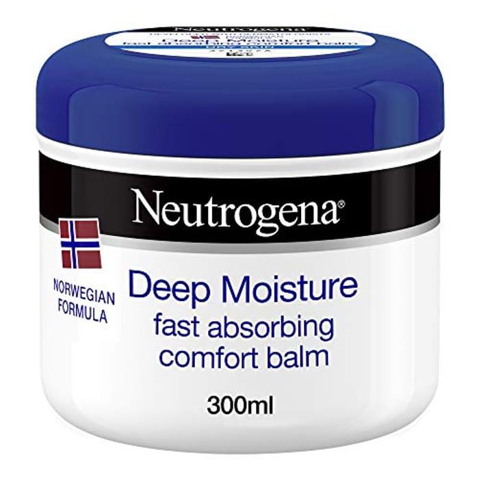 Neutrogena Deep Moisture Fast Absorbing Balm, 300ml