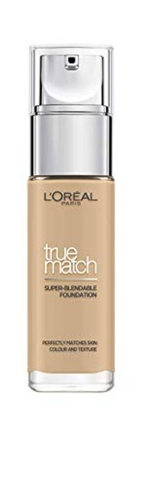 L'Oreal Paris True Match Liquid Foundation, Infused with Hyaluronic Acid,
