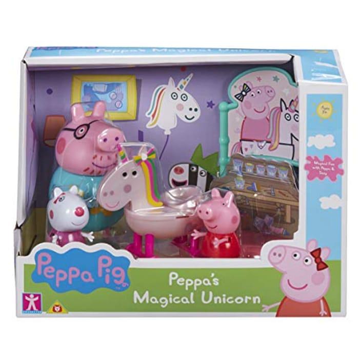 Quick Pre Order Peppa Unicorn Magical Book Play Set