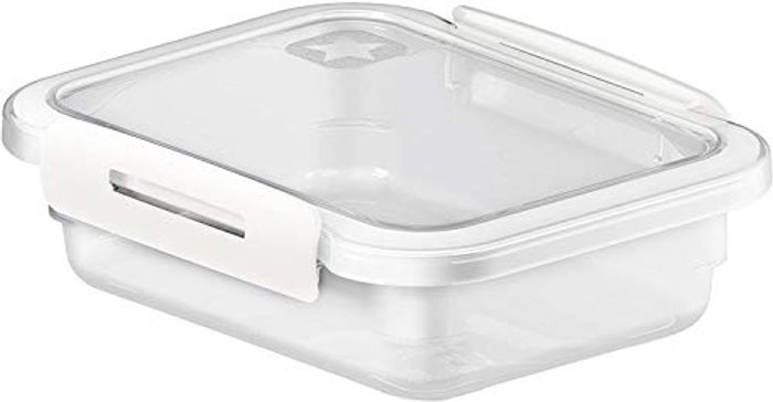 Rotho Memory, Fridge Food Tin with Lid 0.4 L,