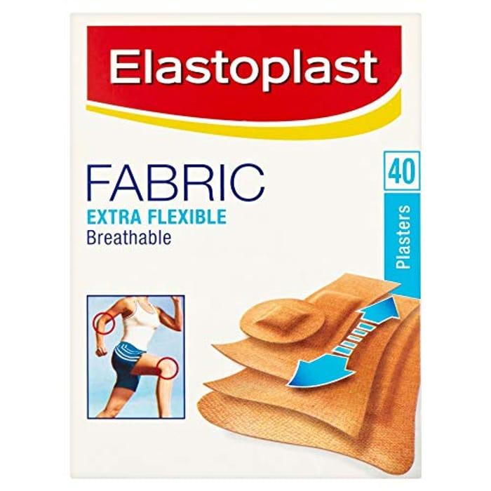 Elastoplast Fabric Breathable Plasters