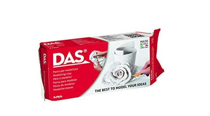 DAS 1kg Modelling Clay - White - Only £4!