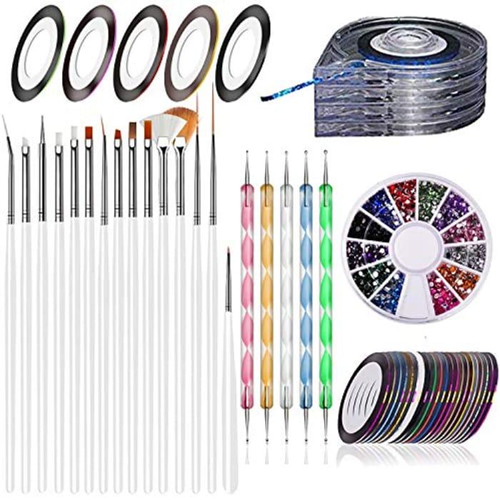 15pcs Nail Art Kit