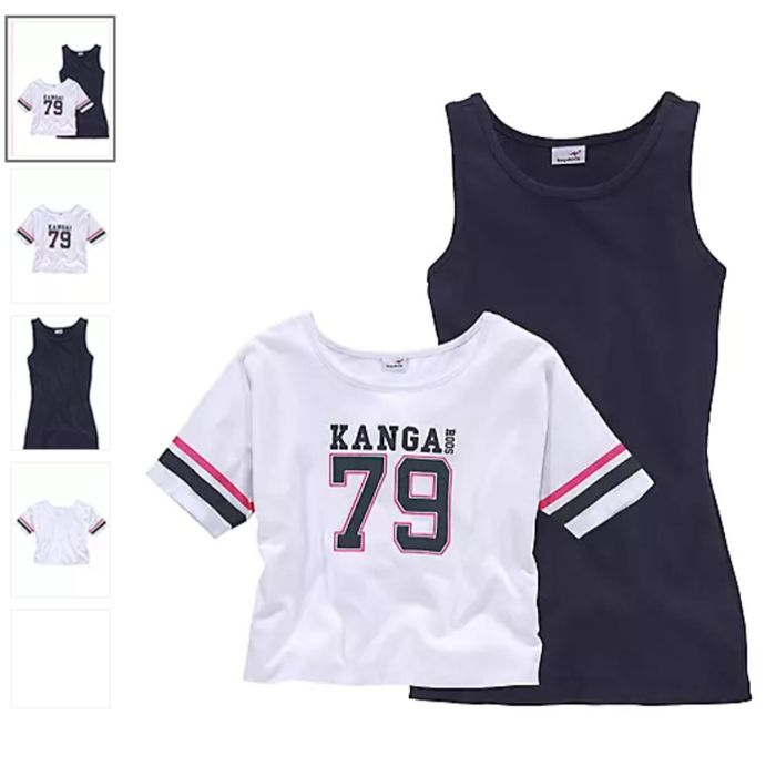 Kids T-Shirt and Vest by KangaROOS