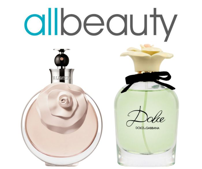AllBeauty Up to 64% off Selected Perfumes + Extra 15% Code
