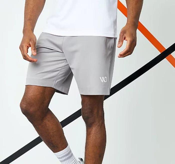 WRKOUT Grey Sports Shorts