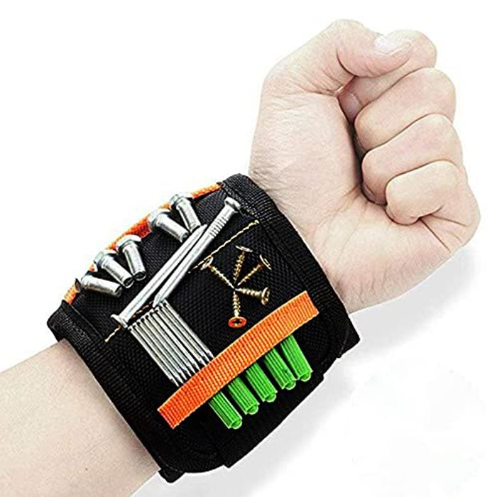 Magnetic Wristband for Holding Screws with £3 off Coupon