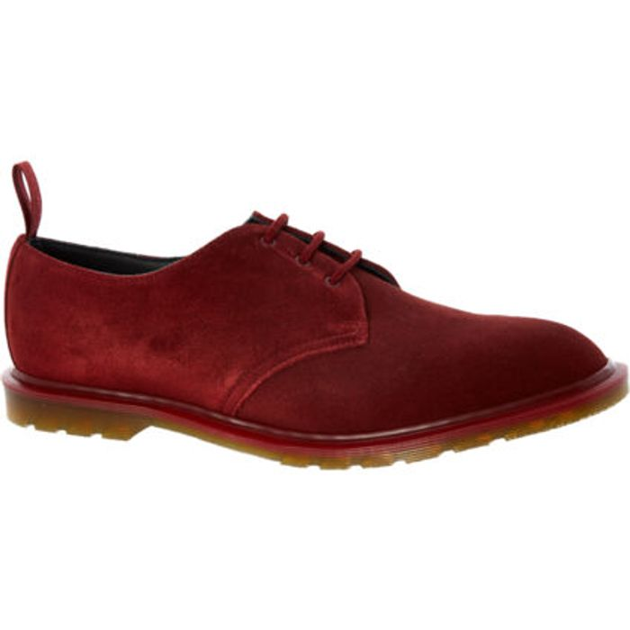 Red Suede Steed NP Trainers