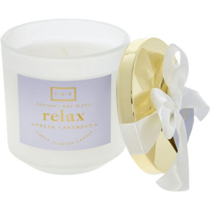 Relax Fresh Lavender Scented Candle 193g