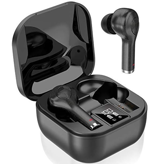 Wireless Earbuds Headphones, Bluetooth 5.0 Headphones - Only £9.99!