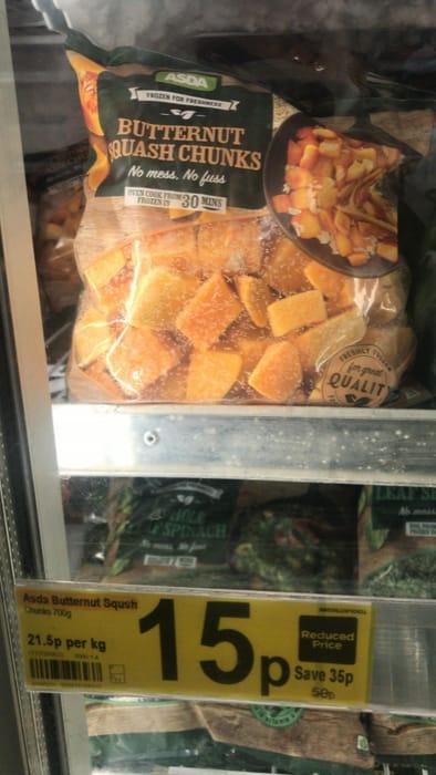 Reduced Price: Butternut Squash Chunks