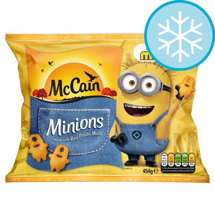 Mccain Minions 454G - Clubcard Price - Only £1!