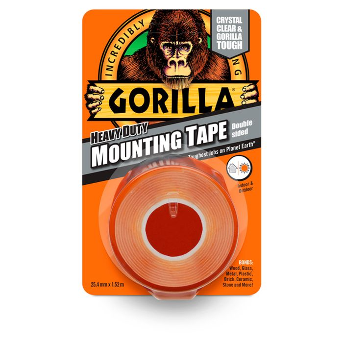 Gorilla Heavy Duty Mounting Tape - Clubcard Price - Only £3.3!