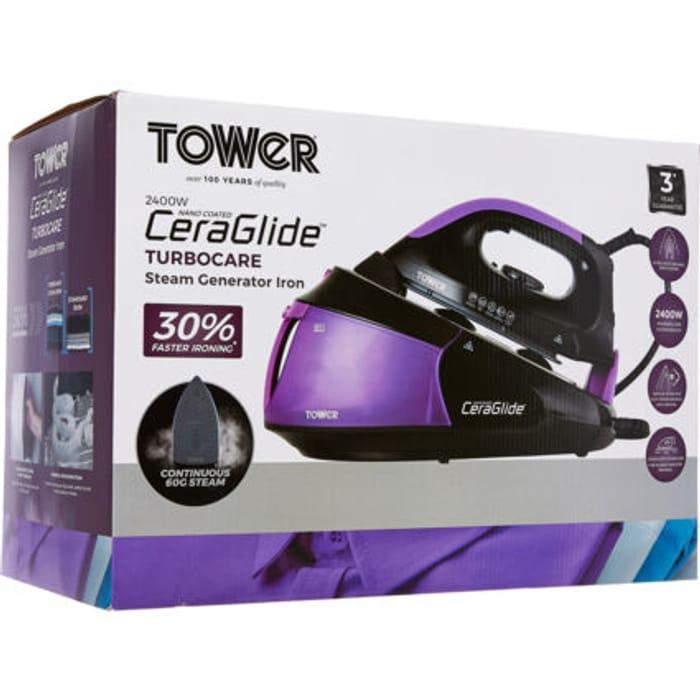 TOWER Purple & Black Generator Iron