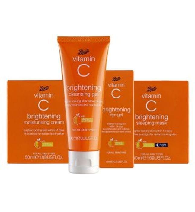 Boots Vitamin C Skincare Bundle