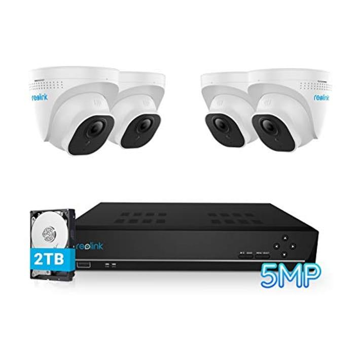 DEAL STACK - 4K CCTV System + £20 Coupon