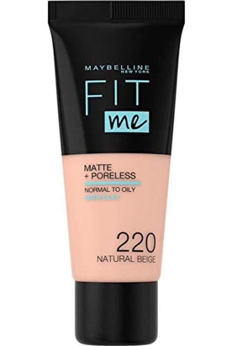Maybelline Fit Me Matte & Poreless Foundation