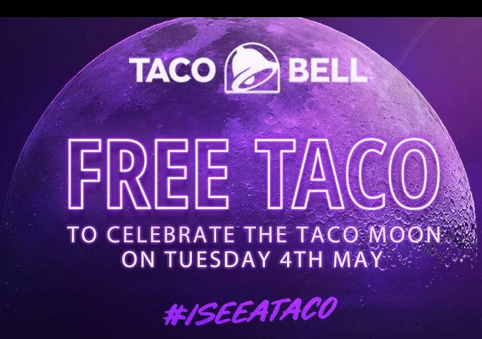 Free Crunchy Taco - Today Only