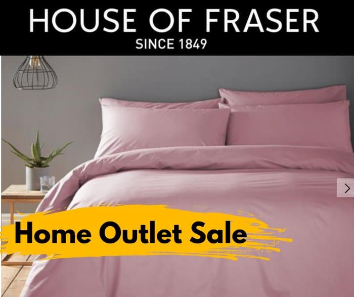House of Fraser Massive Home Outlet Sale