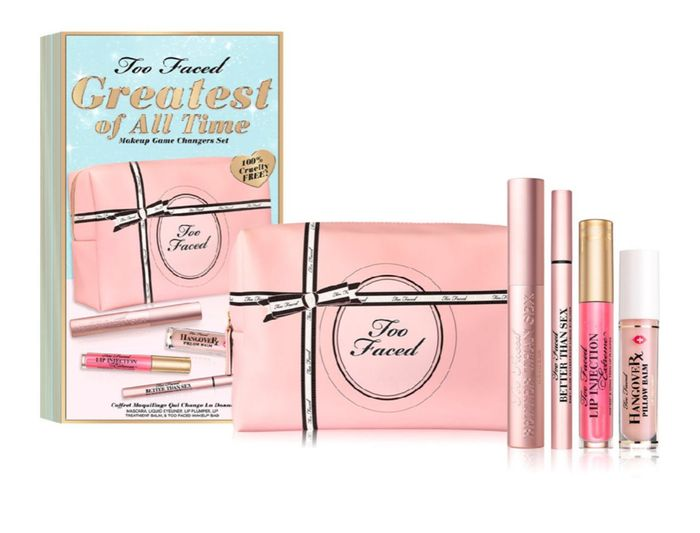 Too Faced Greatest of All Time Makeup Game Changers Set Worth £80 20%off £31.50