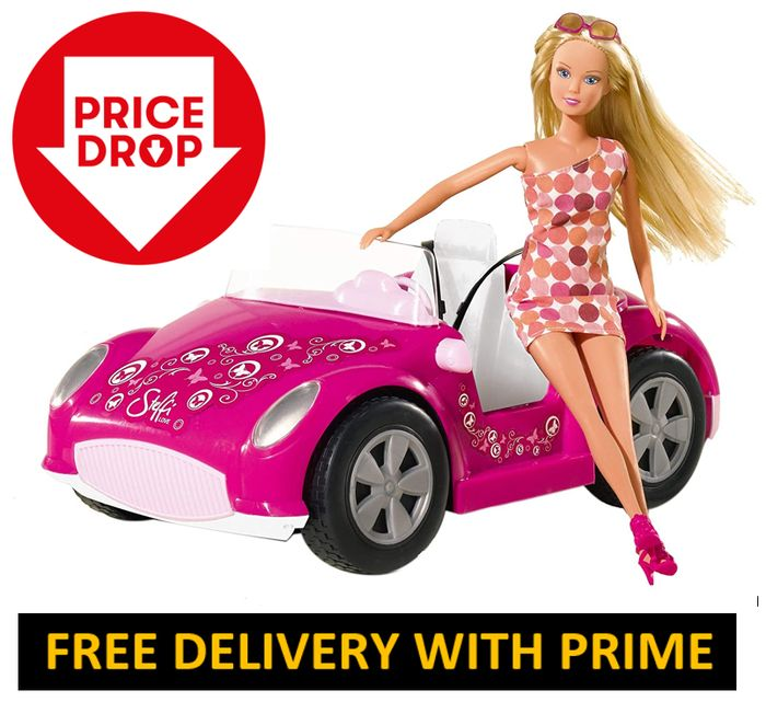 STEFFI LOVE Beach Car (Doll & Car)