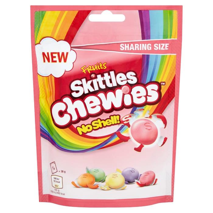 Skittles Chewies No Shell!