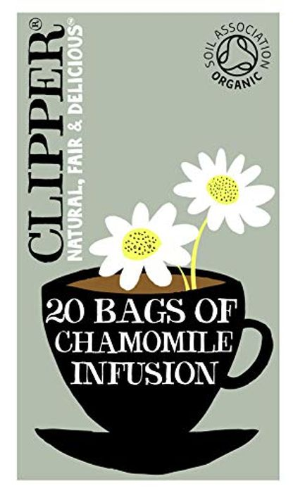 Organic Infusion Chamomile 20 Tea Bags (Pack of 6)