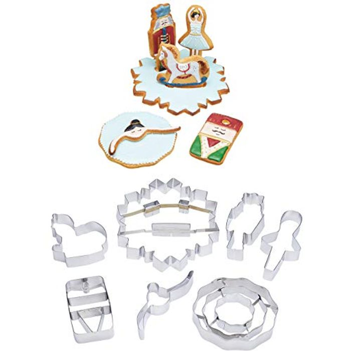 KitchenCraft Cookie Cutters Set
