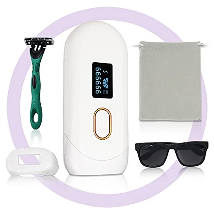 IPL Permanent Laser Body and Facial Hair Removal - Only £29.99!