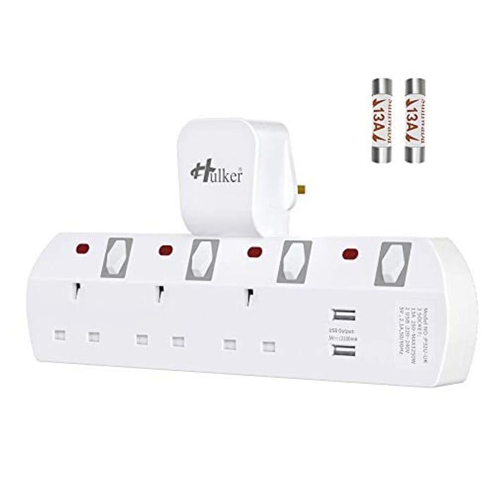 Hulker Plug Extension, Multi Plug Extension Sockets