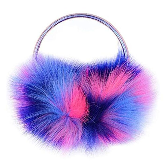 Colorful Winter Warm Fluffy Earmuffs - Only £4.49!