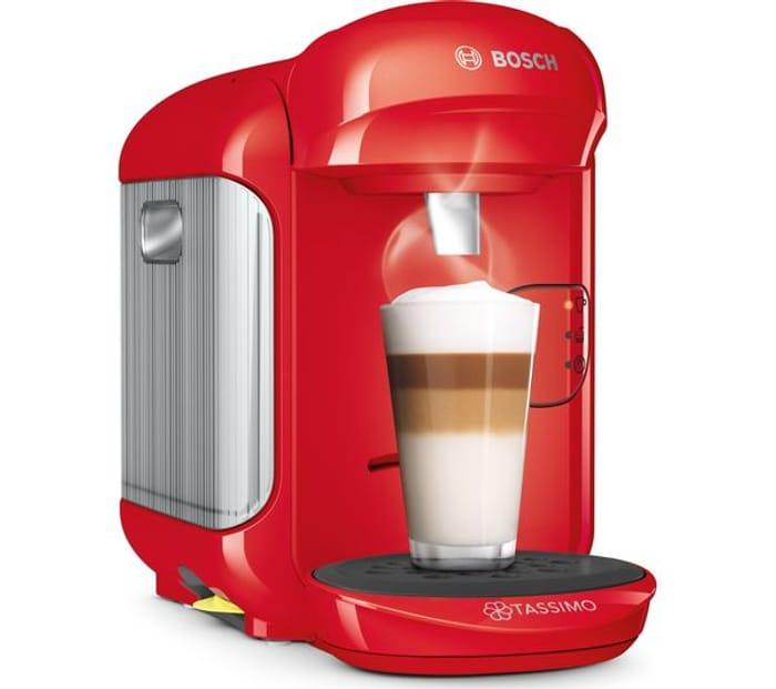 *HALF PRICE* TASSIMO by Bosch Vivy2 Hot Drinks Machine 5 Colours