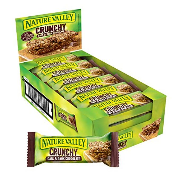 Nature Valley Chocolate Cereal Bars Pack of 18