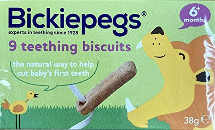 Bickiepegs Natural Teething Biscuits - Soothers and Teethers for Babies
