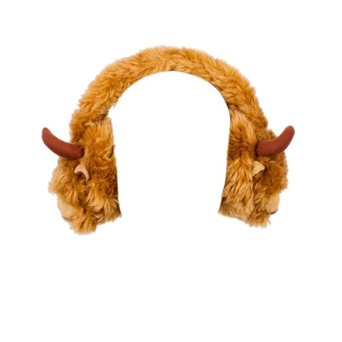 Highland Cow Earmuffs
