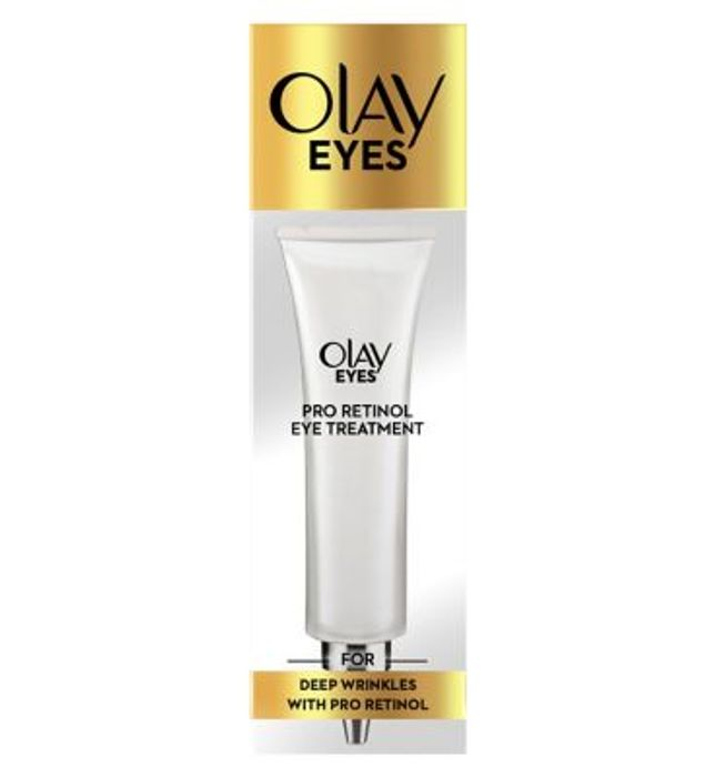 Olay Eyes Pro-Retinol Eye Treatment Moisturiser 15 Ml for Deep Wrinkles