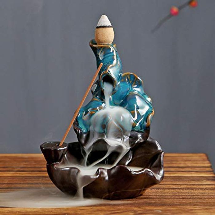 Zen Ceramic Backflow Incense Burner - Only £6.57!