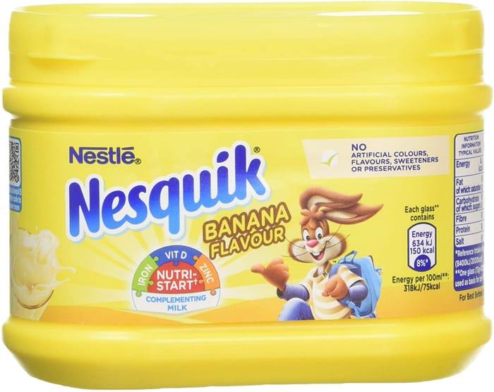 Nesquik Banana Flavour Milkshake Powder 300 G